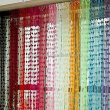 New Arrive Cute Heart Line Tassel String Door Curtain Window Room Divider Curtain Valance