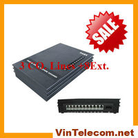 Hot sell PABX system VinTelecom SV308 pbx telephone system with 3 Co.lines and 8 Ext.