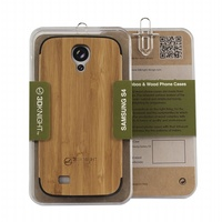 Hot ultra slim custom bamboo case for samsung S4 DURABLE wooden case for iphone 5 Wholesale phone wood covers for iphone
