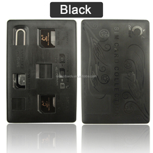 4 in 1 Sim Card Converter Adapter Kit Sim Tray Opener Nano to Micro Standard for Iphone 5 4s Compatible with All Phone SIM