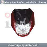 China Factory Headlight assy Used For Bajaj CT100 motorcycle spare parts