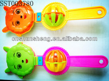 Clab A Bell Plastic Baby Rattles