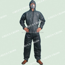 Disposable Type 5 Antistatic Flame Retardant strong liquid and particle barrier Coverall