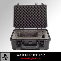 Plastic protective Case/ hard plastic storage case for equipment with foam insert