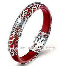 moda prata esterlina 925 pulseira de prata ágata, para presentes de casamento,SYB0009R