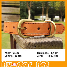 Personalized Lowest Price Leather Cat Collars Pet Collar Dog Coleira Para Gato Pet Supplies