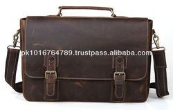 Genuine Leather Laptop Bag Messenger Bag Tough and Durable