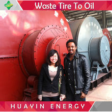 750 Batches Service Life Waste Tyre Pyrolysis Plant To Furnace Oil