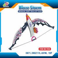 Plastic air soft toy gun for kids/Most Popular airsoft gun mini plastic toy guns for kids/soft bullet toy gun for kids