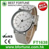 FT1638 Hong Kong port classic Japan quartz movement stainless steel fashionable watch