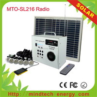 Hot sale portable home lighting home appliance manufacturers turkey 30W 40W 50W with solar radio and solar fan