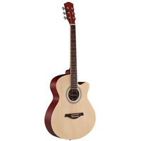 cheap acoustic sakura electric guitar