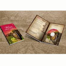 custom coloring brochure sample for book