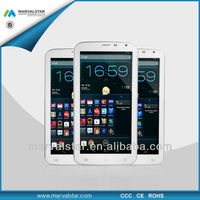 China new 6.5 inch A20 dual core Android 4.2+Bluetooth+HDMI 2G GSM smartphone Tablet PC(MQ695)