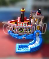original inflatable pirate slide