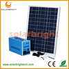 Solarbright portable mini emergency led solar panel kits for home with mobile charger solar lighting kits for outdoor lighting