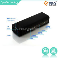 Mini wireless portable Power bank bluetooth speaker with 4000MA battery