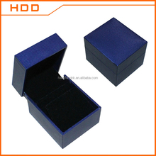 fashion velvet and ribbon earring/twin rings jewellery packaging box