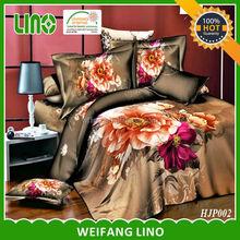 bed protector/polyester fiber filled duvet/quilt fabric 3d