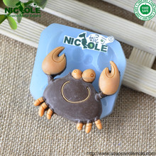 F0833 Crab Silicone Cake Icing Mold