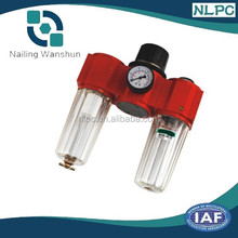 398 series Three-point combination(Air Filter + Regulator+Lubricator),small filter press