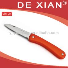 Coltello, coltello da frutta, colore rosso coltello- il nostro stand fiera di canton: E03,15. 3, zona c. Data: 23th-27th, aprile