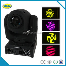 Alibaba China Golden!! 10w mini stage lighting gobo/shake /moving head spot led