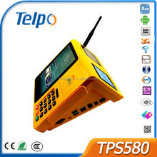 Telepower TPS580 New Design Smallest Barcode Scanner keyboard Cash Registers Mobile Payment Terminal