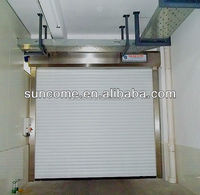 intelligent aluminum rolling up door for warehouse