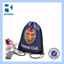 wholesale animal design high quality cloth drawstring bag