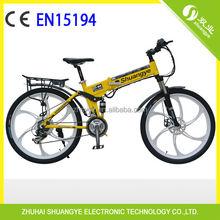 "Lithium ion battery fashionable design folding mountain bike 26"" in china"
