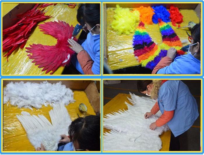 Vendas Direto Da fábrica K2588 Venda Quente Fabricante Prime Turquia 7x12 cm Asas de Anjo Para Crianças