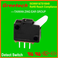 zing ear mini micro switch 12v, detect switch for automotive rubber parts