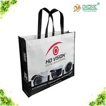 luxurious non woven lamination fashion shopping bag