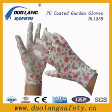 ESD PU Coating Palm Fit Gloves,pu coated gloves,pu gloves garden
