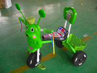 Cheapest with high quality of zhejiang toy newest design kids ride on plastic toy tricycles,Hot sale!