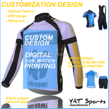 cheap specialized team club design coolmax long sleeve china custom jersey cycling