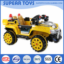 New style and special appearance kids ride on electric cars 12v toy for wholesale