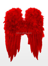 wholesale Party big red large Feather angel wings FW-0021