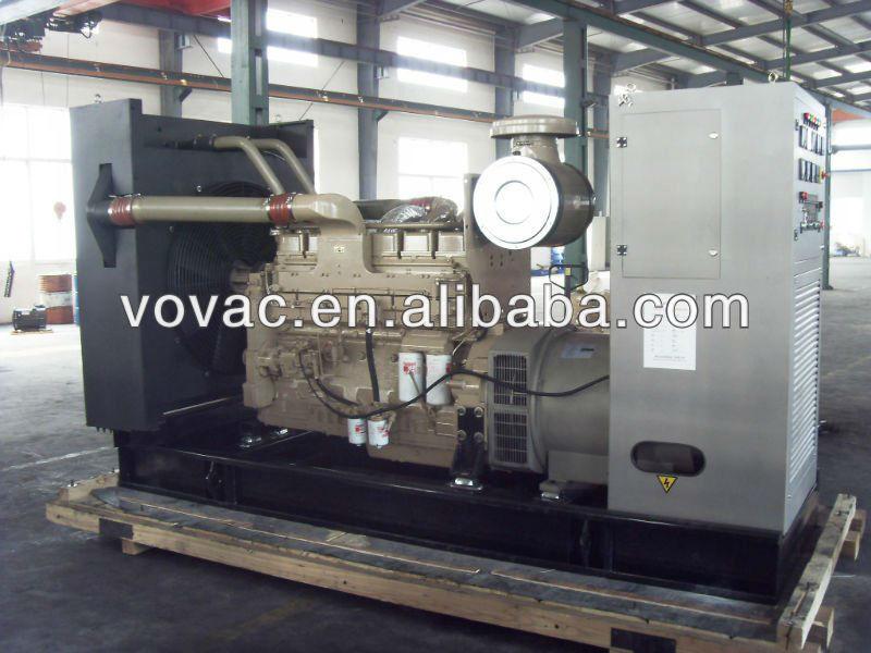 Venda quente 250Kva gerador Diesel preço 3P4W 400 / 230 v 50 hz