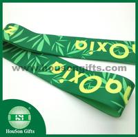 Custom elastic band mans underwear sublimation colored green printed elastic for swimwear