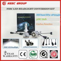 38W 5000LM/bulb super bright cree led headlight 9005,9006,H1,H3,H7,H8,H9,H10,H11,9012,5202,H/L H4,9004,9007,H13