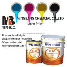 Matt waterproof interior wall emulsion paint