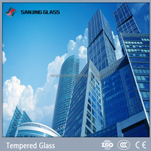 Art glass for building tempered glass