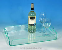 china factory high quality plexiglass serving tray with cheap price