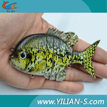 Wholesale plastic fishing lures multi jointed fishing lures