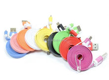 Colorful Noodle Driver Download Usb Data Cable For iPhone 5