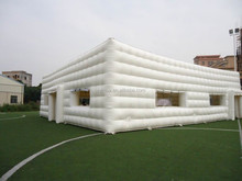 Outdoor giant events inflatable cube tent/large inflatable tent/large event tents
