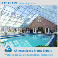 Metal Building Swimming Pool Canopy for Sunshade
