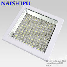 Square thin section recessed bathroom ceiling led kitchen light